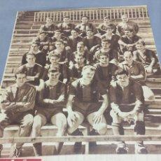 Coleccionismo deportivo: 20-4-1959 FC BARCELONA CAMPEÓN LIGA. Lote 189565496