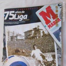 Coleccionismo deportivo: MARCA 75 AÑOS DE LA MEJOR LIGA 1929-2004 - EDICIÓN CONMEMORATIVA. . Lote 189770812