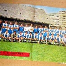 Coleccionismo deportivo: R.C.D. ESPAÑOL 1972-73, AS COLOR POSTER Nº 76 EN BUEN ESTADO. Lote 189826743