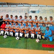Collectionnisme sportif: C.D. MALAGA , AS COLOR POSTER Nº 98. Lote 189827011