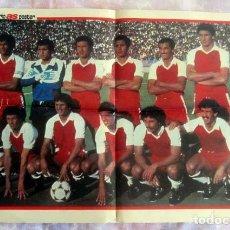 Coleccionismo deportivo: ARGELIA-ESPAÑA 82 , AS COLOR POSTER . Lote 189827268