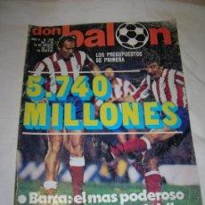 Collectionnisme sportif: REVISTA DON BALON N,200 DEL AÑO 1979 DE AGOSTO. Lote 189896485