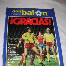 Coleccionismo deportivo: REVISTA DON BALON N,379 DE ENERO DE 1983. Lote 189897347