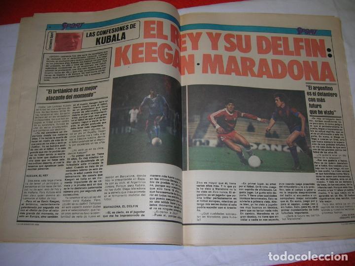 Coleccionismo deportivo: DIARIO SPORT N,57 DE ENERO DE 1980 PORTADA LOS MEJORES DE LOS 70 - Foto 3 - 189916167