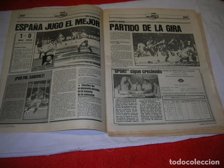 Coleccionismo deportivo: DIARIO SPORT N,590 DE JULIO DE 1981 PORTADA OLMO BAJO EL SOL - Foto 3 - 189916538
