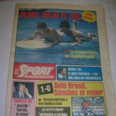 Coleccionismo deportivo: DIARIO SPORT N,590 DE JULIO DE 1981 PORTADA OLMO BAJO EL SOL. Lote 189916538