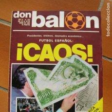 Coleccionismo deportivo: REVISTA DON BALON N,224 DE ENERO DE 1980. Lote 189930801