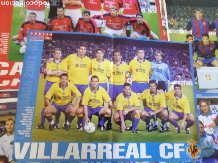 Coleccionismo deportivo: Poster don balon 2001- 2002. 25 posters amplios. - Foto 2 - 190005108