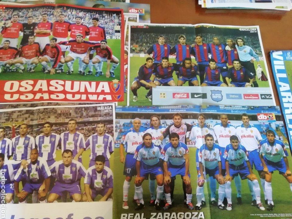Coleccionismo deportivo: Poster don balon 2001- 2002. 25 posters amplios. - Foto 3 - 190005108