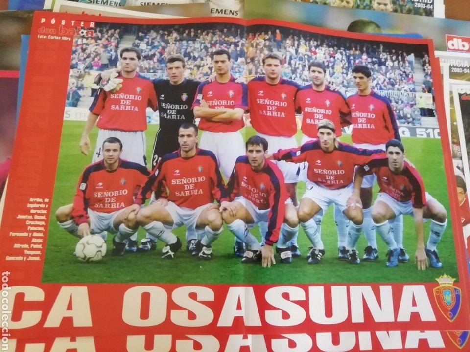 POSTER DON BALON 2001- 2002. 25 POSTERS AMPLIOS. (Coleccionismo Deportivo - Revistas y Periódicos - Don Balón)