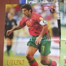 Coleccionismo deportivo: POSTER DON BALON. FIGO PORTUGAL. Lote 190005430