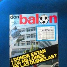 Coleccionismo deportivo: REVISTA DON BALON Nº1 ESPAÑA FUTBOL EXCELENTE ESTADO DE CONSERVACION AÑOS 70. Lote 190119955