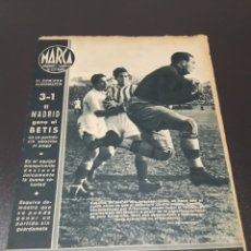 Coleccionismo deportivo: MARCA N° 10. 02/02/1943. MADRID - BETIS, VALENCIA - DEPORTIVO DE CORUÑA.. Lote 190137761