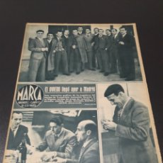 Coleccionismo deportivo: MARCA N° 52. 23/11/1943. ATLETICO BILBAO - CELTA, BARCELONA - CASTELLON, VALENCIA - ESPAÑOL.. Lote 190138892