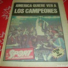 Coleccionismo deportivo: (LLL)SPORT NUMERO EXTRA !!! DEDICADO AL F.C.BARCELONA CAMPEÓN RECOPA EUROPA 1982 !!!! BARÇA !!!. Lote 190337676