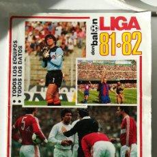 Collezionismo sportivo: LA LIGA 81-82 DON BALON EXTRA . Lote 190301271