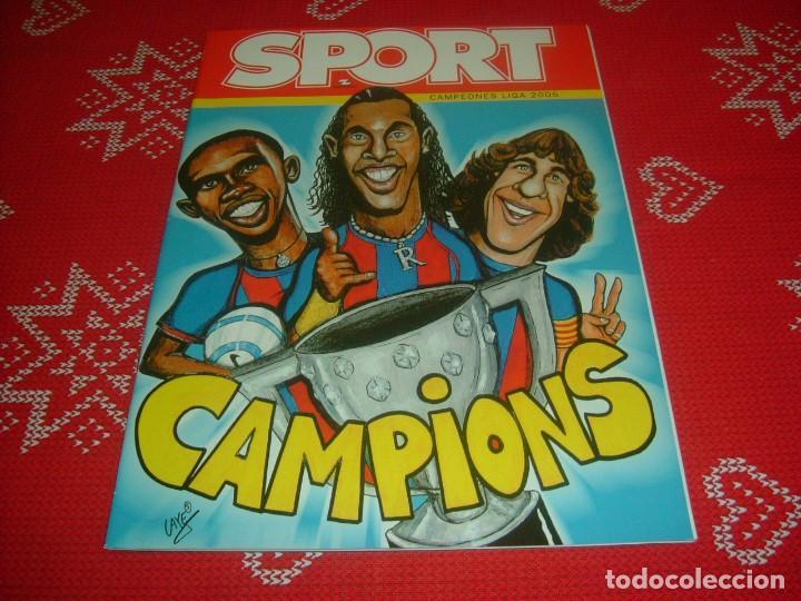 (LLL)SPORT EXTRA ESPECIAL F.C.BARCELONA CAMPEÓN LIGA 2004-05 !!! BARÇA CAMPEÓN !!!CON POSTER (Coleccionismo Deportivo - Revistas y Periódicos - Sport)