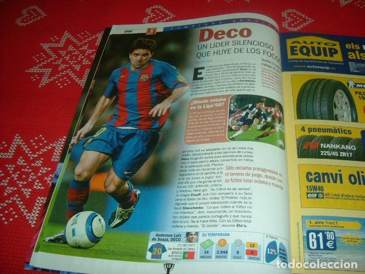 Coleccionismo deportivo: (LLL)SPORT EXTRA ESPECIAL F.C.BARCELONA CAMPEÓN LIGA 2004-05 !!! BARÇA CAMPEÓN !!!CON POSTER - Foto 5 - 190354216