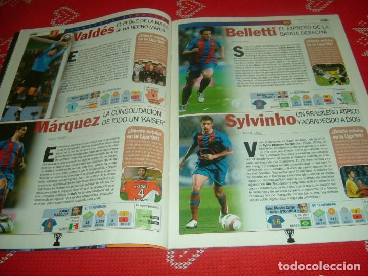 Coleccionismo deportivo: (LLL)SPORT EXTRA ESPECIAL F.C.BARCELONA CAMPEÓN LIGA 2004-05 !!! BARÇA CAMPEÓN !!!CON POSTER - Foto 6 - 190354216