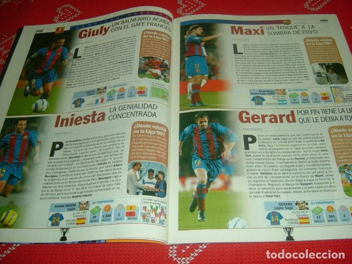 Coleccionismo deportivo: (LLL)SPORT EXTRA ESPECIAL F.C.BARCELONA CAMPEÓN LIGA 2004-05 !!! BARÇA CAMPEÓN !!!CON POSTER - Foto 7 - 190354216