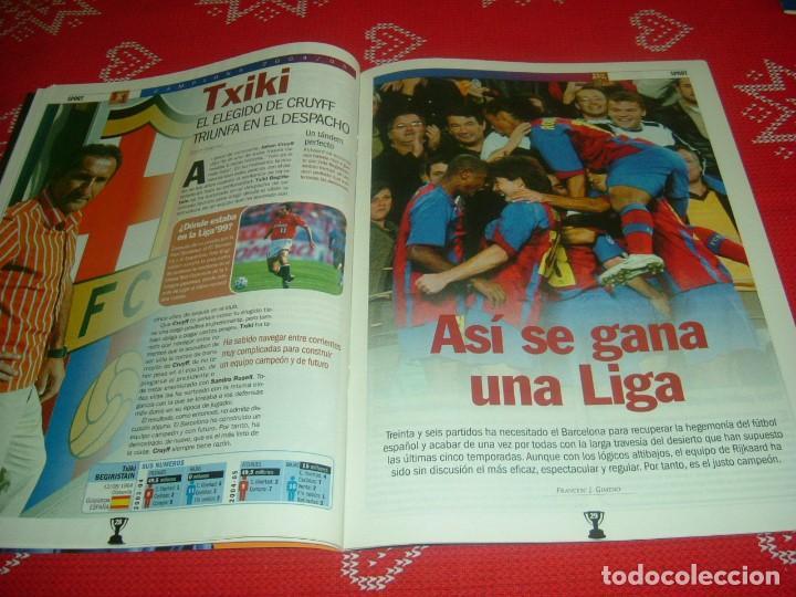 Coleccionismo deportivo: (LLL)SPORT EXTRA ESPECIAL F.C.BARCELONA CAMPEÓN LIGA 2004-05 !!! BARÇA CAMPEÓN !!!CON POSTER - Foto 8 - 190354216
