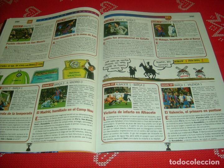 Coleccionismo deportivo: (LLL)SPORT EXTRA ESPECIAL F.C.BARCELONA CAMPEÓN LIGA 2004-05 !!! BARÇA CAMPEÓN !!!CON POSTER - Foto 9 - 190354216