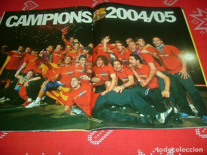 Coleccionismo deportivo: (LLL)SPORT EXTRA ESPECIAL F.C.BARCELONA CAMPEÓN LIGA 2004-05 !!! BARÇA CAMPEÓN !!!CON POSTER - Foto 10 - 190354216
