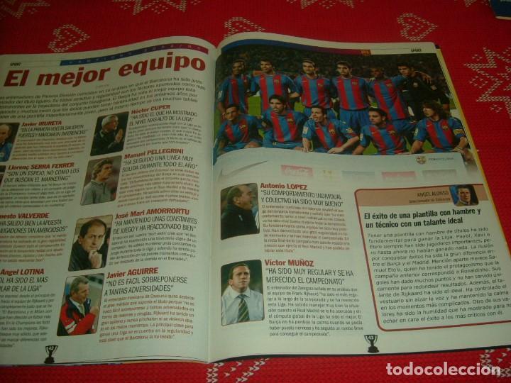 Coleccionismo deportivo: (LLL)SPORT EXTRA ESPECIAL F.C.BARCELONA CAMPEÓN LIGA 2004-05 !!! BARÇA CAMPEÓN !!!CON POSTER - Foto 12 - 190354216
