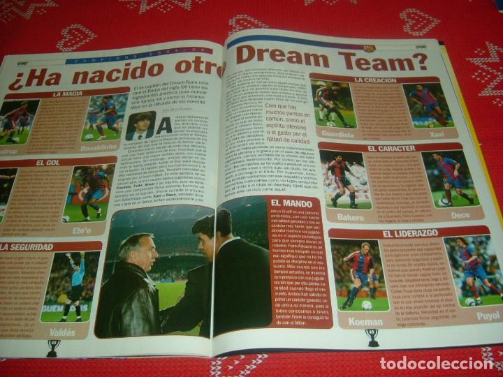 Coleccionismo deportivo: (LLL)SPORT EXTRA ESPECIAL F.C.BARCELONA CAMPEÓN LIGA 2004-05 !!! BARÇA CAMPEÓN !!!CON POSTER - Foto 13 - 190354216
