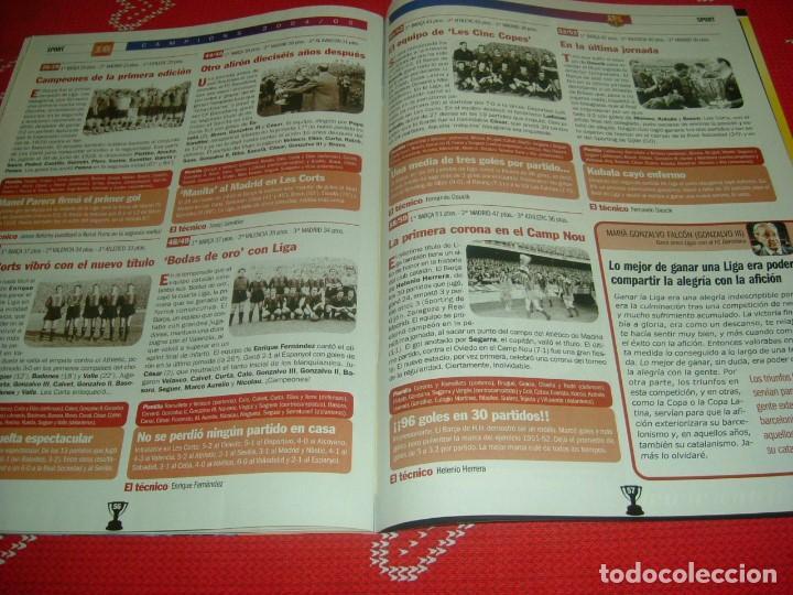 Coleccionismo deportivo: (LLL)SPORT EXTRA ESPECIAL F.C.BARCELONA CAMPEÓN LIGA 2004-05 !!! BARÇA CAMPEÓN !!!CON POSTER - Foto 15 - 190354216