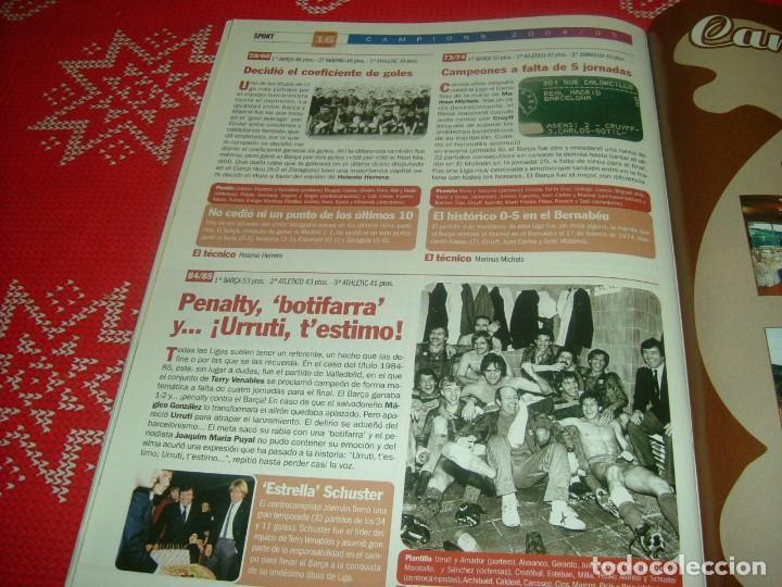 Coleccionismo deportivo: (LLL)SPORT EXTRA ESPECIAL F.C.BARCELONA CAMPEÓN LIGA 2004-05 !!! BARÇA CAMPEÓN !!!CON POSTER - Foto 16 - 190354216
