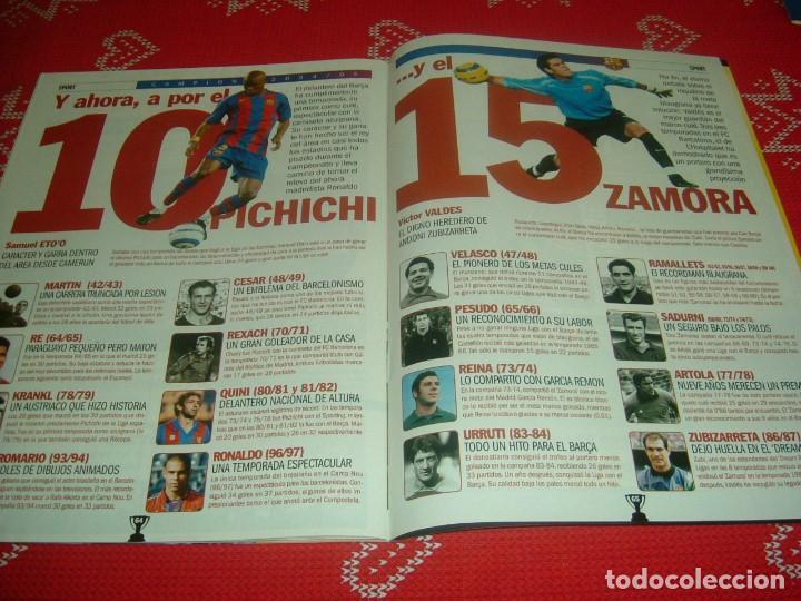 Coleccionismo deportivo: (LLL)SPORT EXTRA ESPECIAL F.C.BARCELONA CAMPEÓN LIGA 2004-05 !!! BARÇA CAMPEÓN !!!CON POSTER - Foto 18 - 190354216