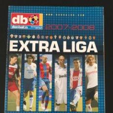 Coleccionismo deportivo: FÚTBOL DON BALÓN EXTRA LIGA 99 TEMPORADA 2007-2008 - AS MARCA SPORT MUNDO DEPORTIVO CROMO PÓSTER. Lote 190504511