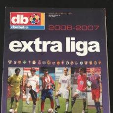 Coleccionismo deportivo: FÚTBOL DON BALÓN EXTRA LIGA 89 TEMPORADA 2006-07 - AS MARCA SPORT MUNDO DEPORTIVO POSTER CROMO ALBUM. Lote 190504915