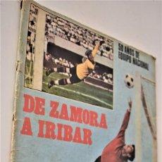 Coleccionismo deportivo: DE ZAMORA A IRIBAR - AS FÚTBOL, NÚMERO EXTRAORDINARIO 50 AÑOS DE EQUIPO NACIONAL. Lote 190616587
