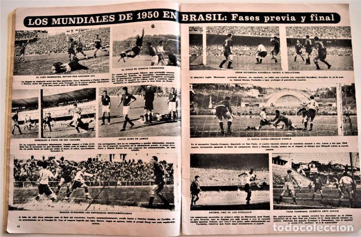 Coleccionismo deportivo: DE ZAMORA A IRIBAR - AS FÚTBOL, NÚMERO EXTRAORDINARIO 50 AÑOS DE EQUIPO NACIONAL - Foto 3 - 190616587