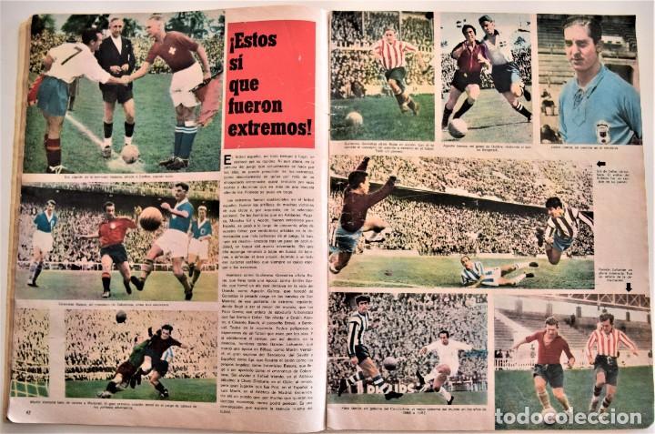 Coleccionismo deportivo: DE ZAMORA A IRIBAR - AS FÚTBOL, NÚMERO EXTRAORDINARIO 50 AÑOS DE EQUIPO NACIONAL - Foto 4 - 190616587