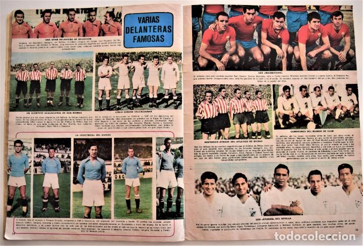 Coleccionismo deportivo: DE ZAMORA A IRIBAR - AS FÚTBOL, NÚMERO EXTRAORDINARIO 50 AÑOS DE EQUIPO NACIONAL - Foto 5 - 190616587