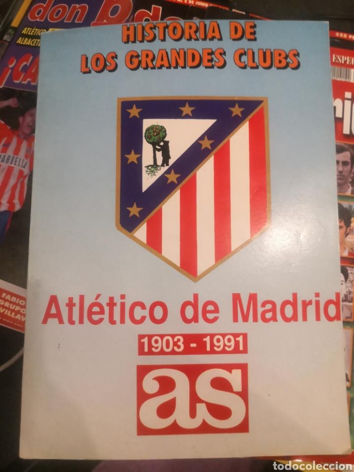 HISTORIA DE GRANDES CLUBES, ATLÉTICO DE MADRID 1903-1991, AS, COLECCIÓN COMPLETA. (Coleccionismo Deportivo - Revistas y Periódicos - As)