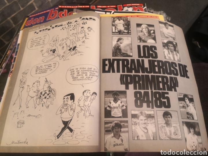 Coleccionismo deportivo: Don balón Año XI N°507 2 Junio 1985 La copa de Hugo, Atlético de Madrid At. - Foto 4 - 190635151