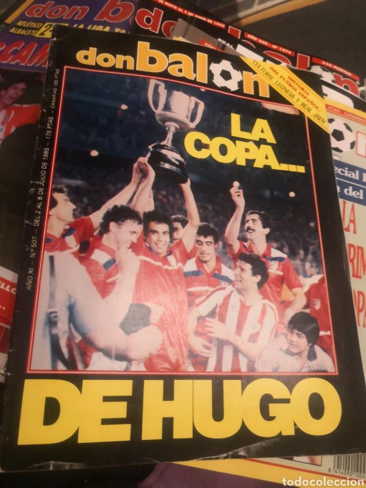 DON BALÓN AÑO XI N°507 2 JUNIO 1985 LA COPA DE HUGO, ATLÉTICO DE MADRID AT. (Coleccionismo Deportivo - Revistas y Periódicos - Don Balón)