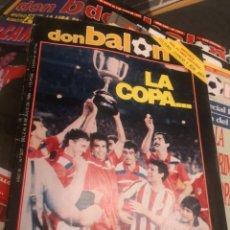 Coleccionismo deportivo: DON BALÓN AÑO XI N°507 2 JUNIO 1985 LA COPA DE HUGO, ATLÉTICO DE MADRID AT.. Lote 190635151