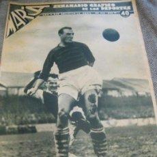 Coleccionismo deportivo: MARCA SEMANARIO GRAFICO DEPORTES 1939 Nº 17. Lote 190714881