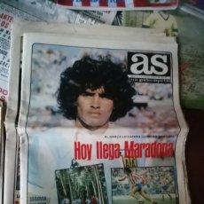 Coleccionismo deportivo: AS HISTÓRICO 1982. MARADONA LLEGA AL FC BARCELONA.. Lote 190756765