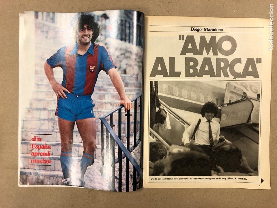 Coleccionismo deportivo: DON BALÓN N° 397 (MAYO 1983). MARADONA, SELECCIÓN ESPAÑOLA, MACHO FIGUEROA, REAL MADRID RECOPA - Foto 2 - 190819005