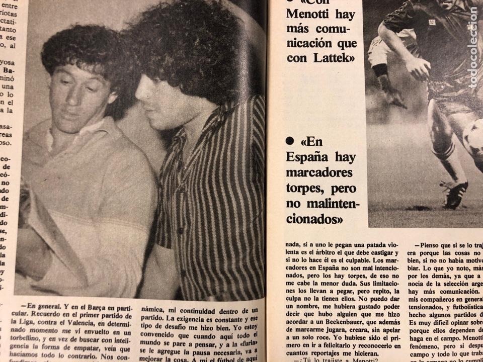Coleccionismo deportivo: DON BALÓN N° 397 (MAYO 1983). MARADONA, SELECCIÓN ESPAÑOLA, MACHO FIGUEROA, REAL MADRID RECOPA - Foto 3 - 190819005