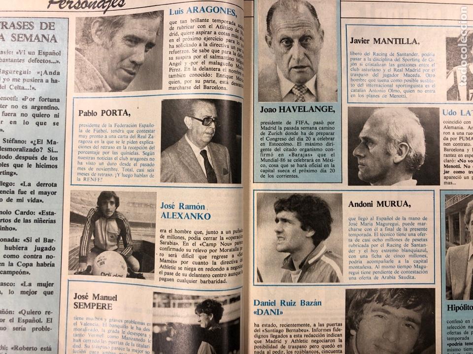 Coleccionismo deportivo: DON BALÓN N° 397 (MAYO 1983). MARADONA, SELECCIÓN ESPAÑOLA, MACHO FIGUEROA, REAL MADRID RECOPA - Foto 6 - 190819005