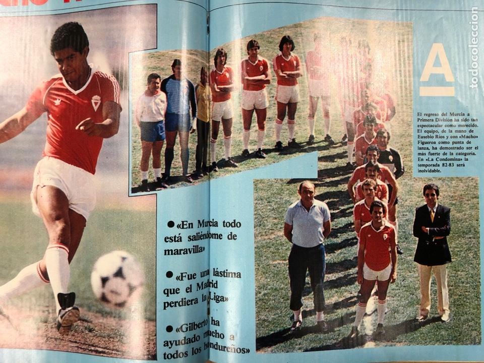 Coleccionismo deportivo: DON BALÓN N° 397 (MAYO 1983). MARADONA, SELECCIÓN ESPAÑOLA, MACHO FIGUEROA, REAL MADRID RECOPA - Foto 7 - 190819005