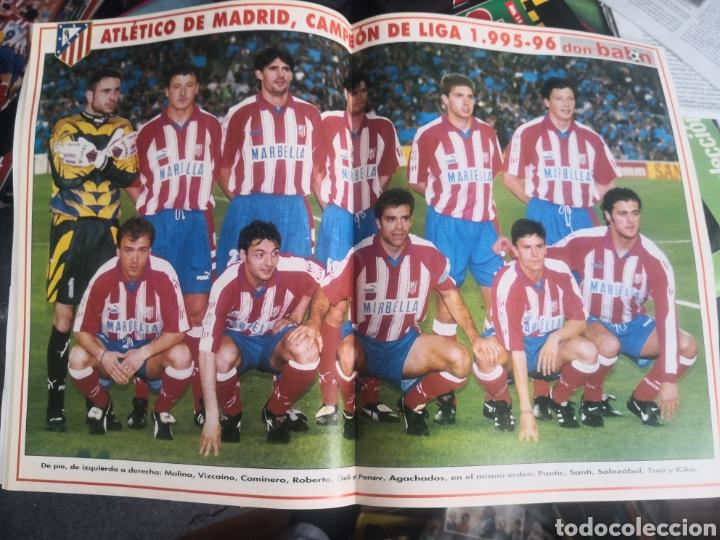 Coleccionismo deportivo: Don Balón N 1076, junio 1996,Especial Atlético de Madrid, At.,CAMPEÓN! con Póster intacto. - Foto 2 - 190842531