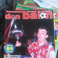 Coleccionismo deportivo: DON BALÓN 1070(1),ABRIL 1996,ESPECIAL ATLÉTICO DE MADRID, AT., LA COPA DE PANTIC.. Lote 190843397